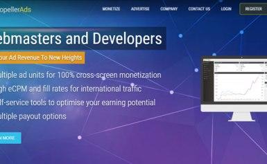PropellerAds – Thêm một lựa chọn mạng quảng cáo cho các Publisher