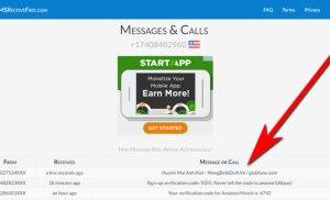 Dịch vụ nhận SMS và điện thoại trực tuyến miễn phí