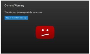 Qua mặt Youtube khi bắt xác nhận tuổi mới được xem video