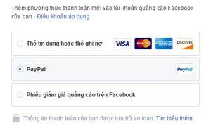 Giải pháp tình thế cho tình trạng thẻ tín dụng không sử dụng được khi thanh toán Facebook Ads