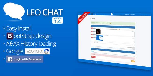 Leo Chat – Mã nguồn web chat bằng PHP và AJAX