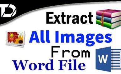 Nén tập tin Word, Excel, PowerPoint để lấy hình
