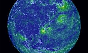 Xem trực quan các cơn bão trên toàn thế giới trực tuyến