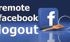 Đăng xuất Facebook từ xa