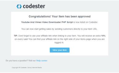 Hướng dẫn đưa source code lên bán trên Codester