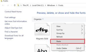 Cài nhanh font vào máy tính chạy Windows