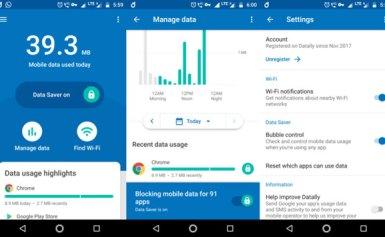 Tiết kiệm cước internet 3G/4G bằng ứng dụng mới của Google – Datally