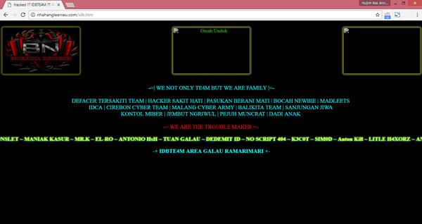 Nhà cung cấp gặp vấn đề khiến nhiều website doanh nghiệp tỉnh Bình Định bị tấn công