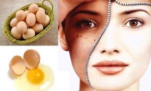 Mẹo chữa nám bằng lòng trắng trứng gà