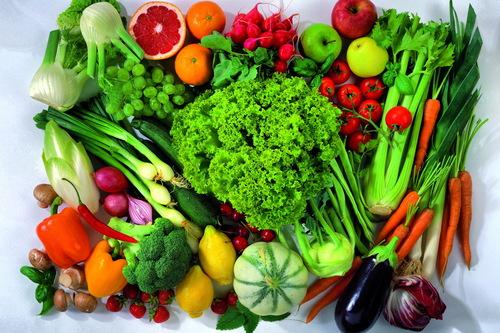 Một số rau củ quả tốt cho các cơ quan trên cơ thể con người