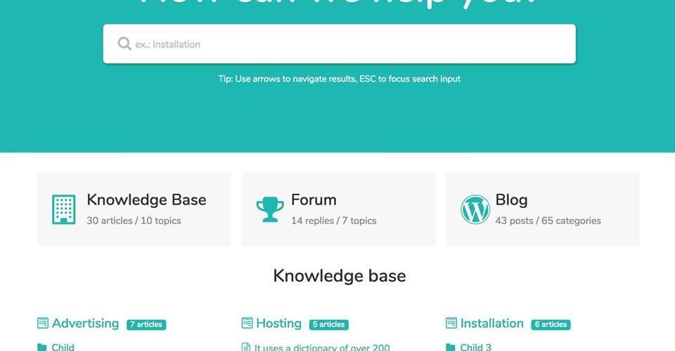 MinervaKB – Giao diện WordPress cho chuyên trang hỗ trợ