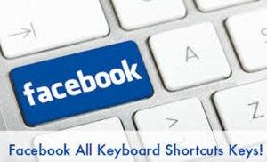 Một số phím tắt dùng cho Facebook trên máy tính