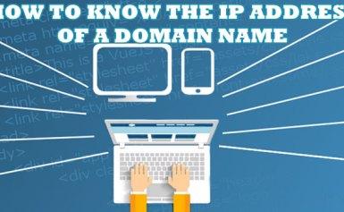 Tìm địa chỉ IP của một tên miền với PHP
