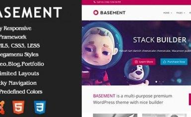 Basement – Giao diện responsive cho Joomla