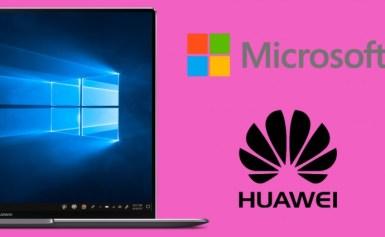 Microsoft tiếp tục hỗ trợ máy tính xách tay thương hiệu Huawei