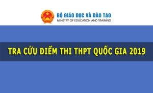 Tra cứu điểm thi Tốt nghiệp THPT Quốc gia năm 2019 của thí sinh Bình Định