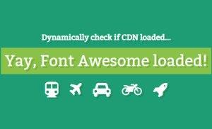 Viết hàm javascript kiểm tra font Awesome đã được load hay chưa