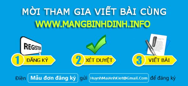 Tham gia Mạng Bình Định
