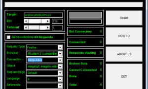 Công cụ tấn công web bằng botnet – Janidos