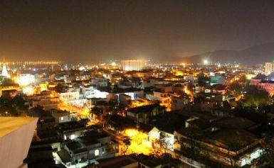 Thành phố Quy Nhơn về đêm