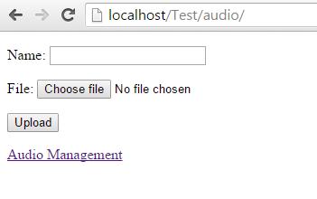 Code hỗ trợ tải lên và phát tập tin MP3 trên nền web