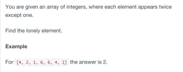 Bài toán tìm số cô đơn