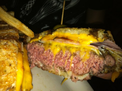 Meatpacker Melt, Vortex Bar and Grill, Atlanta, GA