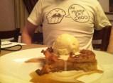 Krispy Kreme Bread Pudding, La Boucherie, New Orleans, LA