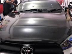 stiker carbon mobil toyota yaris