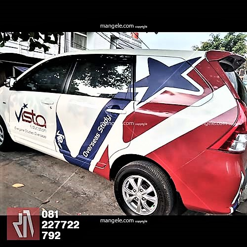 car branding stiker mobil avanza luxio bandung vista  education | 081227722792