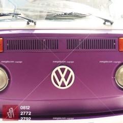 pesgobar ungu doff car branding stiker mobil bandung kualitas mangele sticker