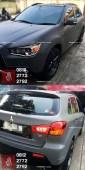 wrapping-stiker-mobil-bandung-outlander-mitsubshi-dark-grey-keren-mangele-sticker