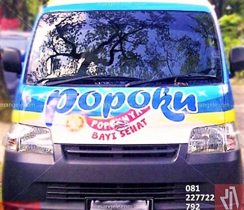 tempat branding stiker mobil granmax di bandung