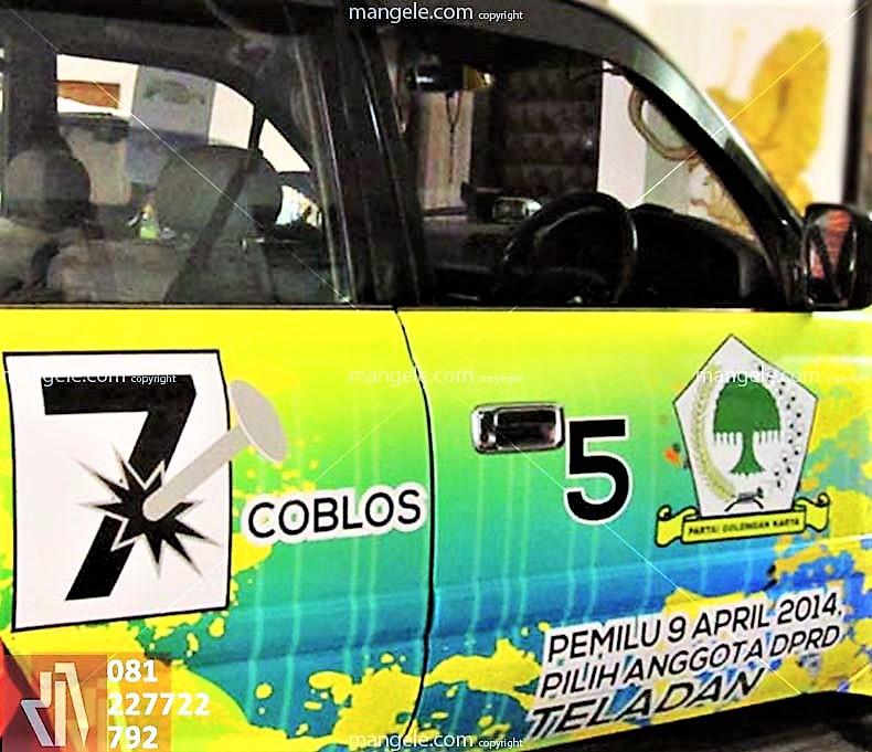 jasa stiker mobil branding bandung
