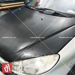 carbon stiker mobil peugeot di bandung