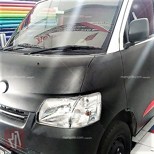 stiker granmax hitam doff wrapping mobil bandung | 081227722792