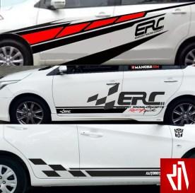 Cutting Sticker Mobil ERC