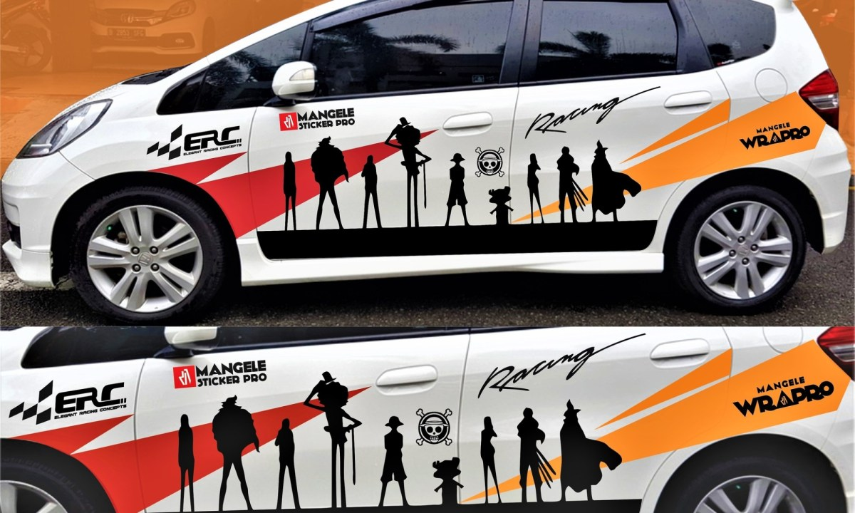 Harga cutting sticker Mobil, Bengkel polet tempat jasa stiker bandung