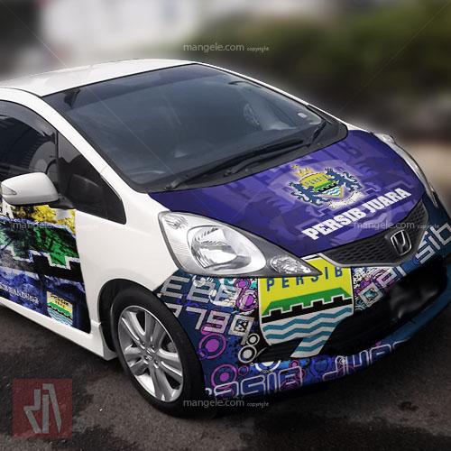 tempat stiker mobil terlaris di bandung   mangele 081227722792   sticker print persib juara