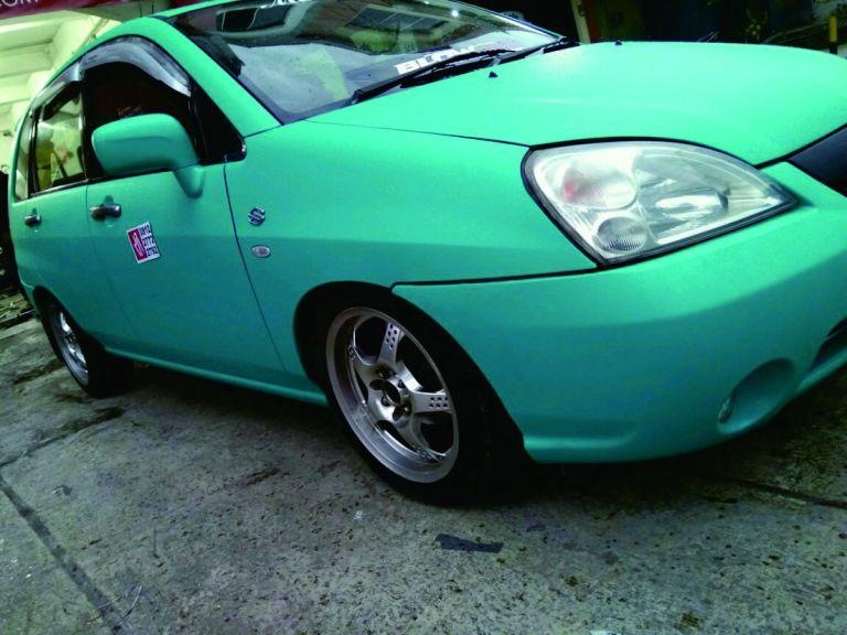 Stiker Bandung Mobil Aerio Tosca Mangele Pro 081227722792