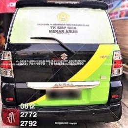 branding stiker mobil apv bandung