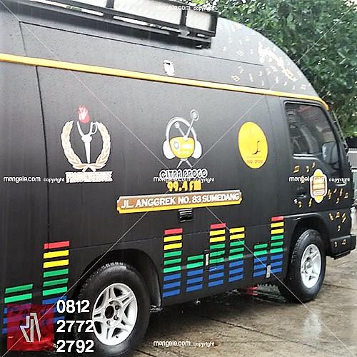 profesional stiker mobil branding di bandung | mangele pro 081227722792