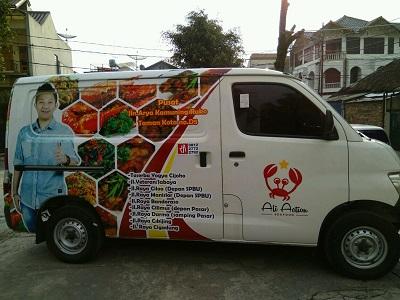 ali seafood branding mobil di bandung | mangele stiker | 081227722792