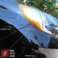 brio full wrapping hitam gloss di bandung | mangele stiker | 081227722792