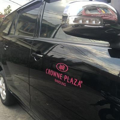 branding stiker mobil | avanza crowne plaza bandung | mangele stiker 081227722792