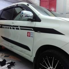 Cutting Sticker Grand New Avanza 1.3 Veloz A/t Stiker Mobil All Nangguk Xenia Source Striping Bandung Mangele