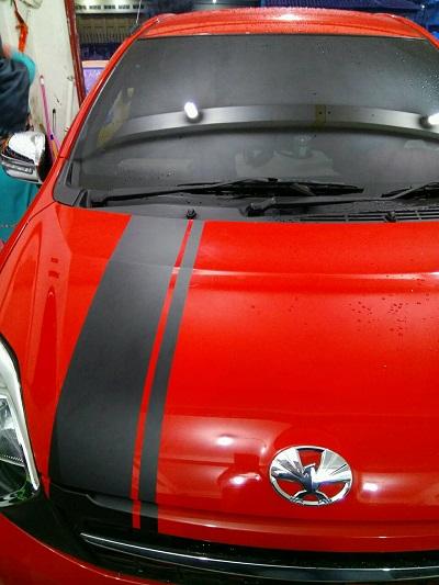 810 Koleksi Modifikasi Stiker Mobil Agya Merah Terbaik
