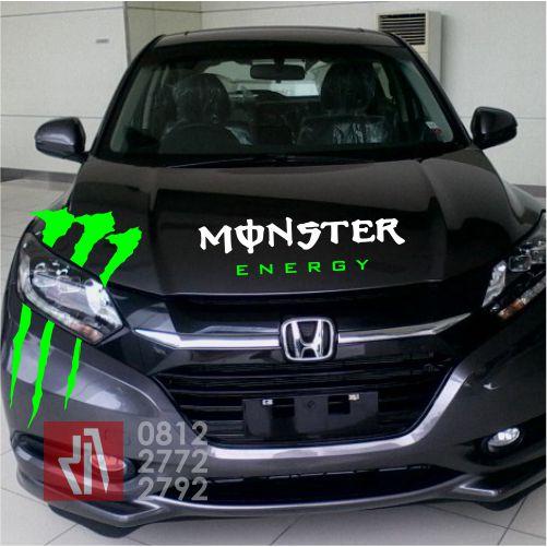 cutting stiker mobil | cutting hrv monster energy bandung | mangele stiker 081227722792