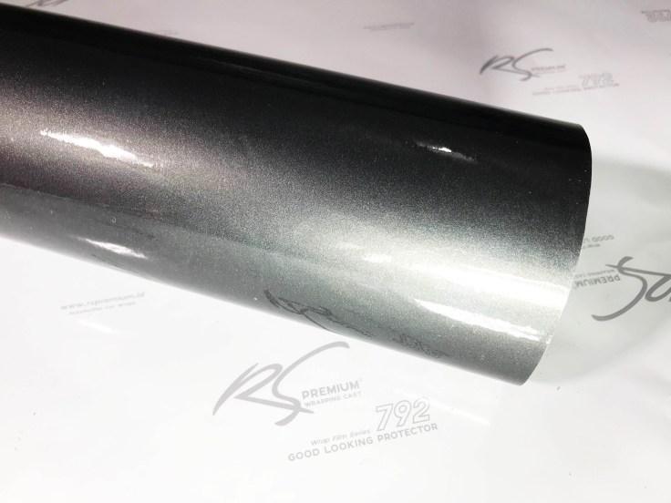 G201 Hardcoal chrome metallic gloss rs premium wrapping