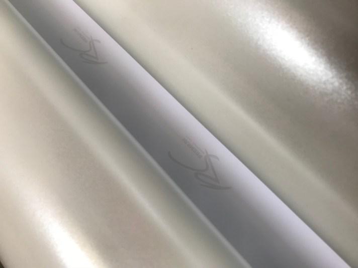 M411 Diamond Cryz chrome metallic matte RS Premium wrapping